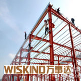Wiskind fabrizierte Stahlgebäude-Lager vor