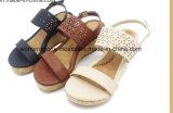 Señora popular Wedge Shoes de tres colores con alta calidad