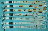 La fábrica baratos personalizados Impresión por sublimación de cuerda de poliéster con hebilla de desconexión