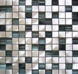 クリスタルモザイクミックスアルミニウムモザイク (YL02A)