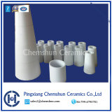 Bague de cylindre en céramique d'alumine comme résistant à l'usure des garnitures de tuyau