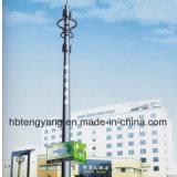 직류 전기를 통한 강철 관 통신 탑