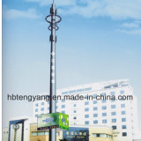 Горячий DIP оцинкованной стали трубы Telecom вышек сотовой связи