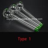 Pyrex Glas-Brenner-Rohr-Pfeife
