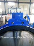 Válvula de borboleta do aço inoxidável de Dn700 CF8 com atuador da caixa de engrenagens