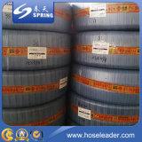Прозрачный шланг стального провода PVC усиленный