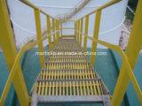 Лестницы из волокнита лечения &GRP лестницы лечения с Gritted