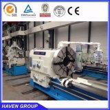 Grande macchina del tornio del tubo di olio del diametro di foro CW6636X5000, macchina del tornio del paese dell'olio