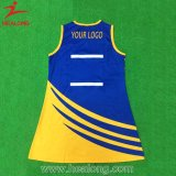 O costume todo o Netball do Sublimation do logotipo veste o Bodysuit para mulheres