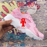 . 2016 ботинок Huarache IV воздуха идущих для людей & женщин, ботинок спортов Huaraches черных белых тапок высокого качества втройне Jogging