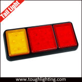 LED de montaje en superficie Universal de las luces traseras de camiones con Stop / Indicadores de giro/Función de retroceso