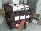 La espuma hecha punto bambú de la memoria de la cubierta de tela comprimida rueda para arriba el colchón