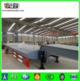 Сверхмощный низкий планшетный трейлер Goosneck 60 тонн