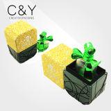 Boîte-cadeau de luxe de parfum de velours de vente chaude