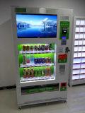 Große Kapazität Kaltgetränk Automatische Verkaufsautomat mit Player