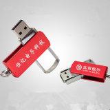 USBのフラッシュ駆動機構OEMのロゴの金属の回転USBのフラッシュディスクUSBの棒のPendirves USB 2.0駆動機構の親指USBのメモリ・カードのフラッシュ・メモリの棒