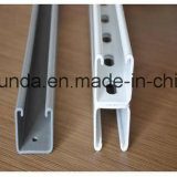 Manica d'acciaio scanalata galvanizzata del puntone C