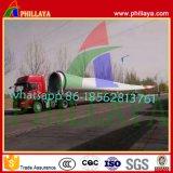 Extensible à plat de l'Éolienne Semi-Trailer Tobular de transport de tour à la Namibie