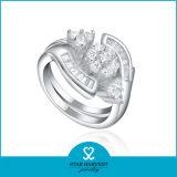 Exagerando promocionales diseño de anillo plata esterlina 925 J-0184)