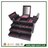 Caixa de jóia de madeira Multifunction da alta qualidade 2017 relativa à promoção