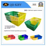 Whole Container High Quality Plastic Injection Turnover Box para Indústria
