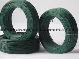 Alambre obligatorio galvanizado cubierto PVC de alta calidad del hierro
