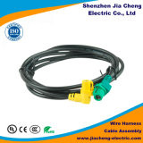 Câble équipé et harnais de fil moulés par coutume pour le matériel de machine