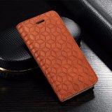 2017 Fabricant Flip Portefeuille en cuir cas Téléphone cellulaire