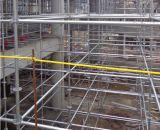 De Steiger van het Systeem van de bouw op Bouwwerf