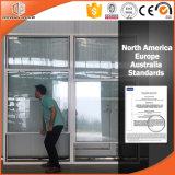 Ultra-Grand type exportation thermique arrêtée simple de guichet en aluminium d'interruption vers USA/America, modèle américain de gril de guichet