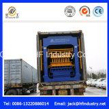 Qt10-15 bloco oco concreto, tijolo contínuo, Paver de bloqueio que faz a máquina