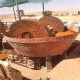 Goldreibende Maschinerie, nasses Wannen-Tausendstel gebildet in Keda