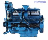 Дизельный двигатель880КВТ, 12 цилиндр, 4-тактный,, , Шанхае Dongfeng Water-Cooled дизельный двигатель для генераторной установки, Китайский двигатель