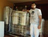 100L 200Lビールプラントのビールテストのためのコンパクトな試験ビールシステム