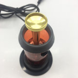 Vaporisateur rouge de fines herbes de fumage électronique d'aromathérapie avec le réglage d'éclairage LED (ES-HS-003)