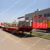 낮은 침대 세미트레일러 50 톤 수송하는 기계장치