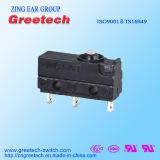 UL, ENEC одобрил загерметизированный миниый микро- переключатель 5A 125/250VAC переключателя