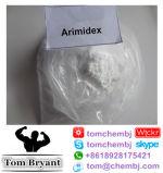 Anti-Oestrogen Arimidex (Anastroz0le) rohes Puder CAS: 120511-73-1