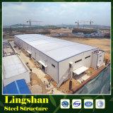 Almacén de la estructura de acero del palmo grande en China
