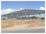 Edificios prefabricados ligeros de la construcción de la estructura de acero