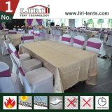 Baldacchino di lusso di cerimonia nuziale con il rivestimento del tetto e tende per le cerimonie nuziali ed i partiti esterni