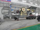 이동할 수 있는 쇄석기 역 시간 당 100 톤