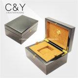 Boîte à montres en bois à l'emballage de luxe personnalisé