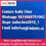 La bâche de protection imperméable à l'eau de PE de tissus de polyéthylène avec des oeillets renforcent