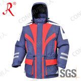 Revestimento de esqui impermeável e respirável projetado novo para o inverno (QF-610)