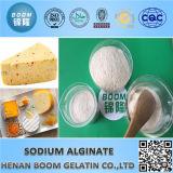 Alginate technique de sodium de pente utilisé en pâte réactive de couleur de teinture dans l'impression