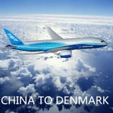 Service aérien de Chine vers Copenhague, Cph, Danemark