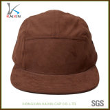 あなた自身のスエードの平野5のパネルの帽子のブランクをカスタム設計しなさい
