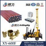大口径回転式600m水掘削装置機械価格
