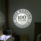 Gobo estático de 20W LED que hace publicidad del proyector de la insignia